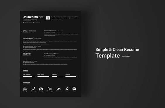 Creative PowerPoint resume pack Resume Design Pinterest - powerpoint resume
