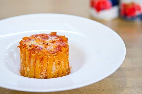 Ziti al forno gratinati   Cirio  #Baked #ziti #gratin #pomodoro #ricetta #recipes #tomato #recipe #italianrecipe