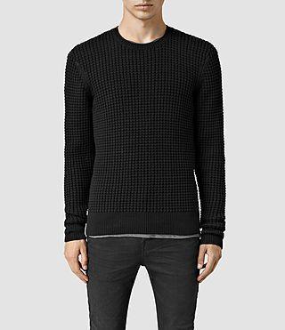 ALLSAINTS Kargg Crew Sweater. #allsaints #cloth #