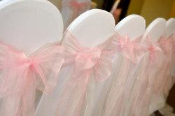 Wedding day essentials: chair covers