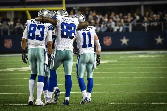Wide Receivers Group of The Dallas Cowboys  #CowboysNation
