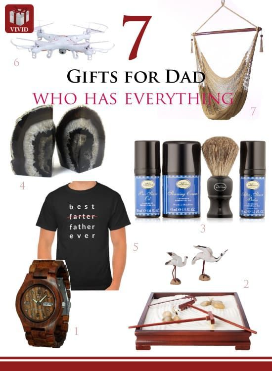 7 Great Gift Ideas For Dad Who Has Everything Best Dad Gifts