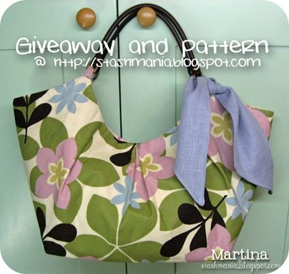 Free handbag patterns- I love this one!