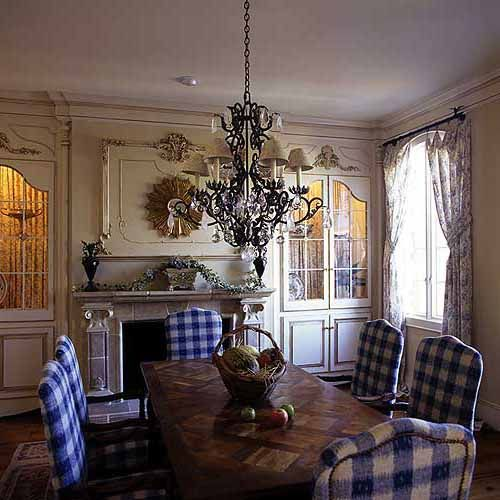 Country French Dining Rooms: Plan 1739LV: Upscale French Country Abode