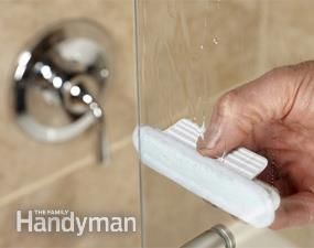 How to clean a bathroom faster and better auto parts store shower doors and hard water - Shower glass protection ...
