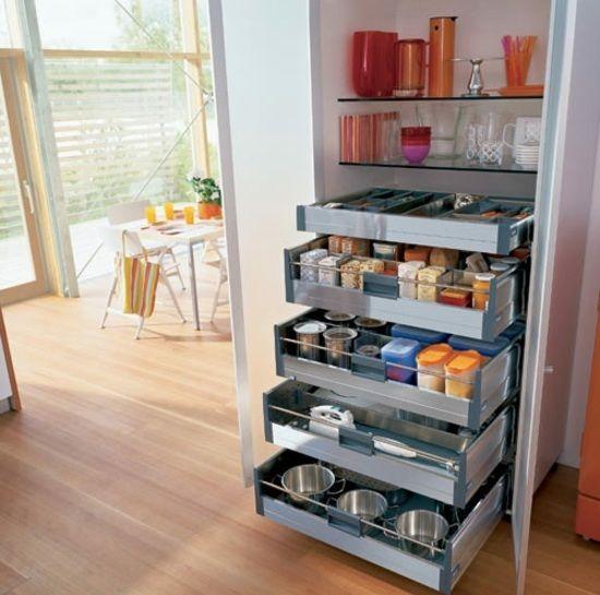 Praktische Ideen für Küche Ordnungssysteme - #Küchenschränkebillig