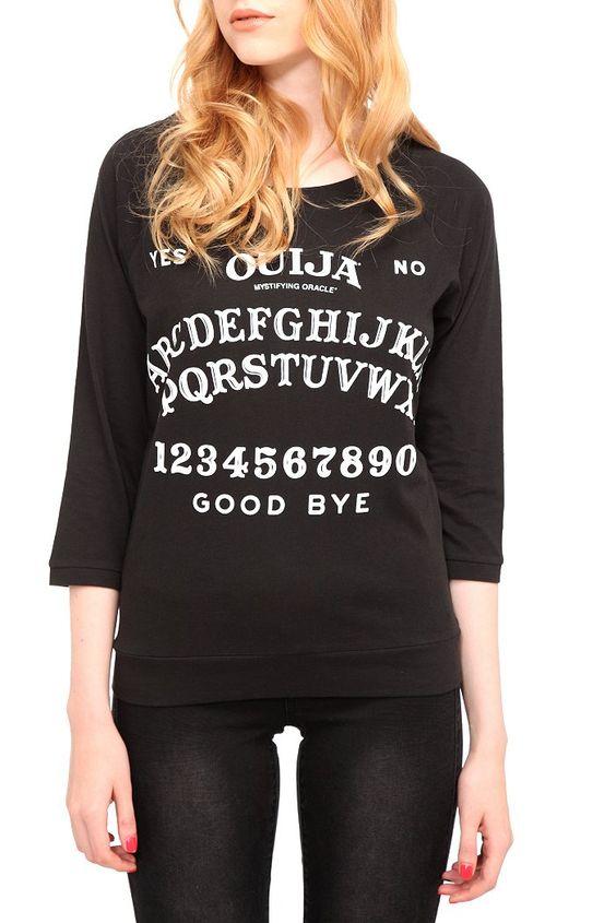 Ouija top. reminds me of you @Adriana