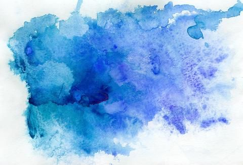 Kate Blue Watercolor Vector Background For Photography With