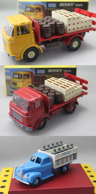 1:43 Scale Model of Berliet Beer Lorry and Ford Nestle Milk Truck. Want to see more detail pictures? Click on the image to see more.