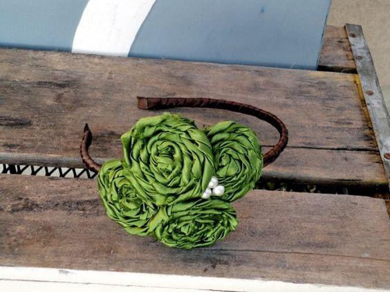 #rosette #headband #rose #flower #hairpiece rosette headband