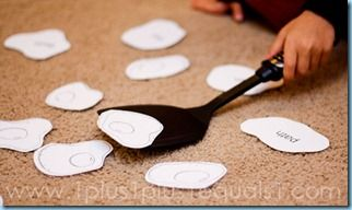 Sight Word Flip (idea from All About Reading)