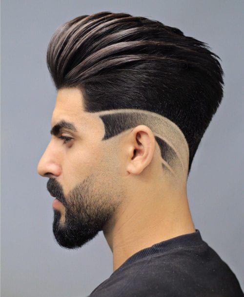 13 Corte de cabello pompadour