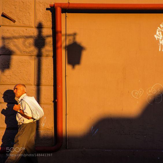passer and shadow by andriysolovyov