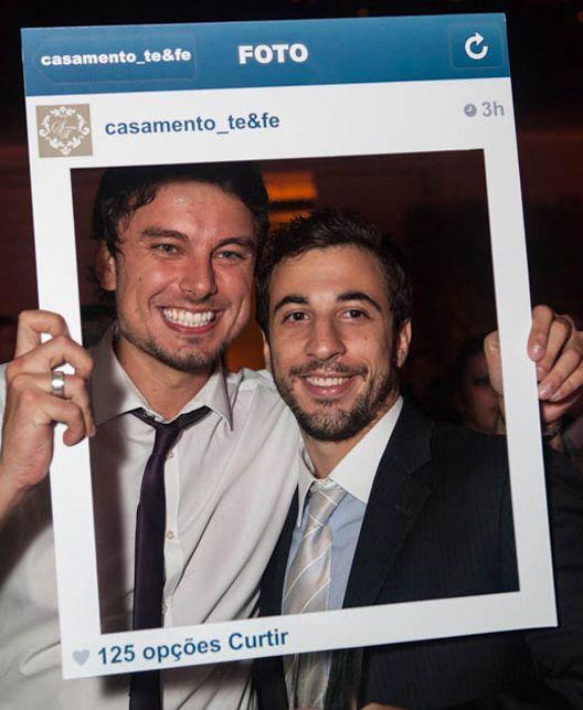 Placa do Instagram para tirar foto!