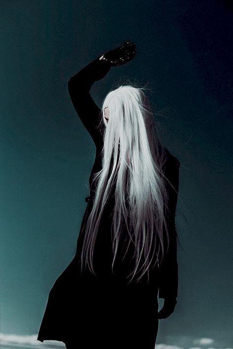 White Hair Aesthetic : white, aesthetic, White, Aesthetic, Hair,, Anime