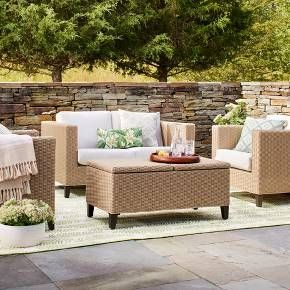 Find Product Information, Ratings And Reviews For Fullerton Wicker Patio  Furniture Set   Threshold™ Online On