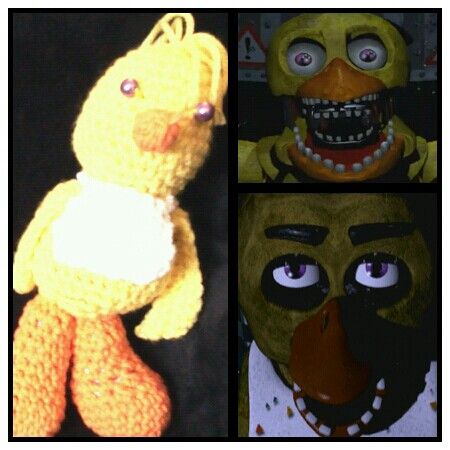 FNAF Chica the Chick created by me (Charise Edwards)