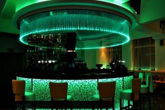 Fiber Optic And LED Lighting Interior Design Idea In Interior