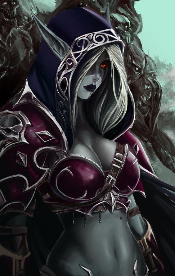 Heroes of the storm ultimate fan art: Sylvanas by Vymnis female dark elf drow sorceress witch wizard warlock sorcerer armor clothes clothing fashion player character npc | Create your own roleplaying game material w/ RPG Bard: www.rpgbard.com | Writing inspiration for Dungeons and Dragons DND D&D Pathfinder PFRPG Warhammer 40k Star Wars Shadowrun Call of Cthulhu Lord of the Rings LoTR + d20 fantasy science fiction scifi horror design | Not Trusty Sword art: click artwork for source