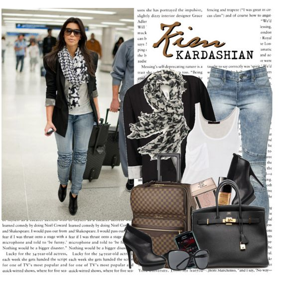 1168. Celeb Style : Kim Kardashian (14.10.2010), created by munarina on Polyvore