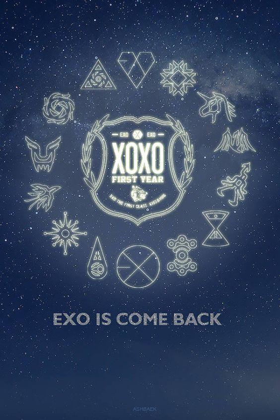 pics for gt exo xoxo logo tumblr