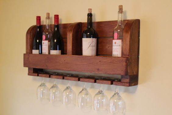Rustic Wine Rack,Wine Rack,Rustic Home Decor, Home Decor Wine Rack,Handcrafted Wood Wine Rack by WoodcraftOutdoors on Etsy https://www.etsy.com/listing/268171403/rustic-wine-rackwine-rackrustic-home