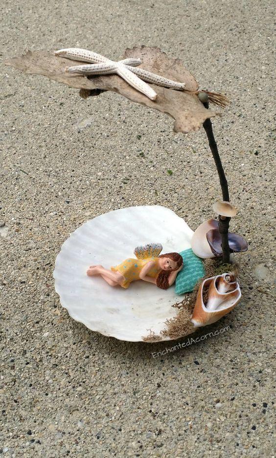 Fairy Garden Day Bed / Spa Day - Miniature Fairy Garden Accessory