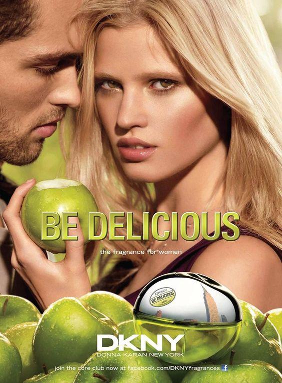 A Dazed Tobias Sørensen Poses for Donna Karans Be Delicious Fragrance Campaign