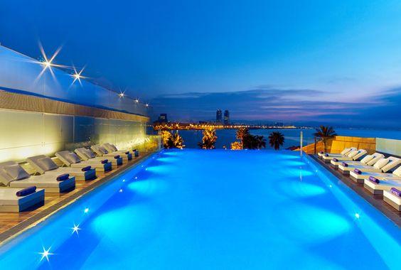 W Barcelona Starwood Spain Loving Swimming Pools Pinterest Photos W Hotel And Barcelona