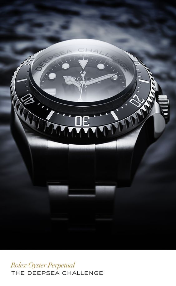Rolex Oyster Perpetual Deepsea Challenge Experimental Watch. #Exploration #RolexOfficial