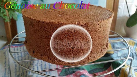 Génoise au Chocolat ( au Thermomix )