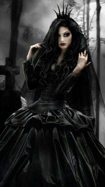 Wicked Black Widow Queen