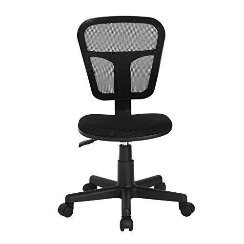 Generic Less Task C Kids Rolling Armless Lling Study Desk K Chair Stu Chair Fabric Stu Task Chair Holstery Upholstery Chair Fabric Kids Study Desk Desk Chair