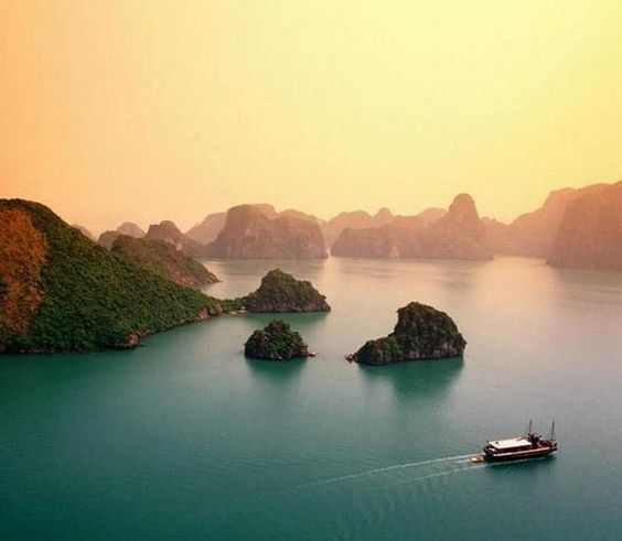Ha Long Bay Ha Long And Most Beautiful Places On Pinterest