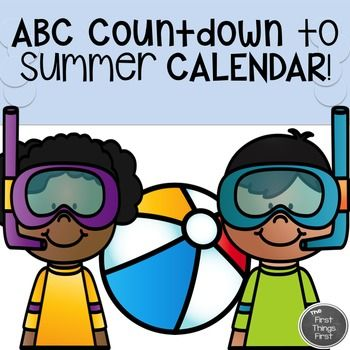 The end of the school year will be here before you know it!  Do you have your countdown activities ready?This ABC Countdown to Summer Calendar includes a simple, FUN, and engaging activity to do at school during the last 26 days of school!!  This calendar can be used in the classroom, at home, or BOTH places!