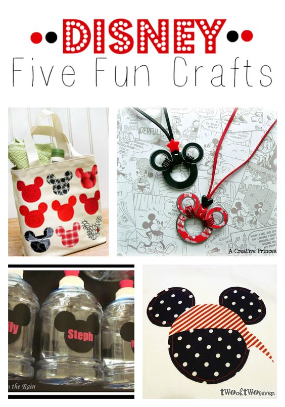 5 Fun Disney Crafts that are perfect to do before your vacation!