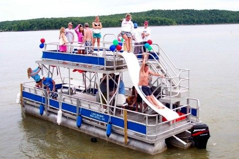 Double Decker Pontoon Boat Ideas Pinterest Boats