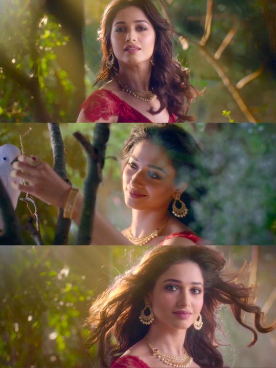 Tamanna Bhatia For Malabar Gold Diamonds Ad Dark Eyebrows Beauty Hot Actors