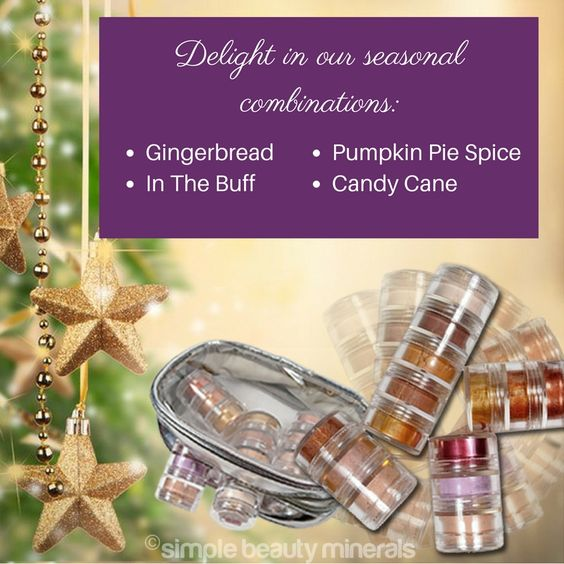 "This time of year is our favorite because of STACKERS! Whether you get a short stack or a tall one they're super pretty and a totally thoughtful gift for the women in you life. Trust us! And the savings really ""stacks"" up - You get 45% off!  Feast your eyes on the possibilities here: https://simplebeautyminerals.com/shop/product-category/santas-picks/ #Healthymakeup #Safemakeup"