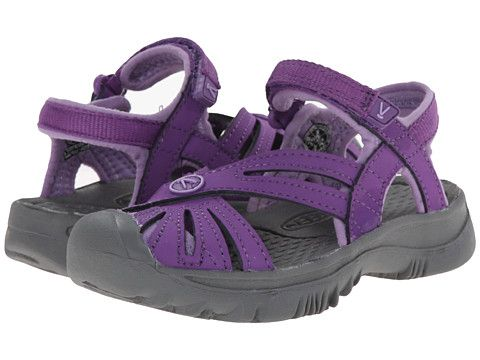 Keen Kids Rose (Toddler/Little Kid) Purple Heart/Gargoyle - Zappos.com Free Shipping BOTH Ways