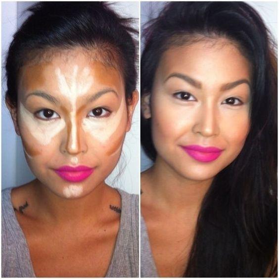 Face contours