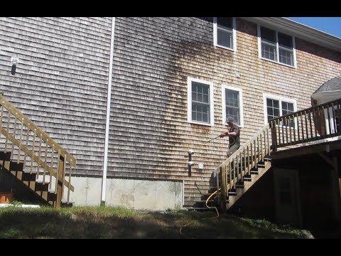 Power Washing Versus Soft Washing Cedar Homes Cedar Siding House Styles