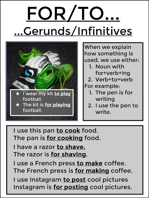 #tefl #tesol #grammar #learnenglish #esl AskPaulEnglish: FOR/TO Gerunds/Infinitives: