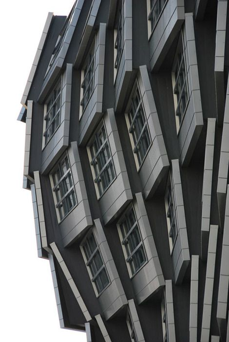 The Wave | Architecture in Almere, Netherlands by Erik van Roekel (via myrussianutopia)