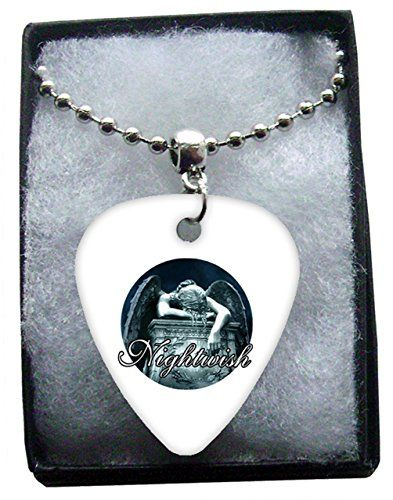 Nightwish Metal Guitar Pick Necklace Ball Chain Collier Médiator Classic Rock Guitar http://www.amazon.fr/dp/B00T7YZ1M2/ref=cm_sw_r_pi_dp_-Kwmvb0EE0VYM