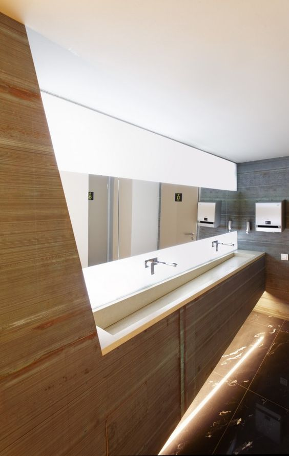Gallery of koltsovo airport nefaresearch 7 public for Public bathroom sink