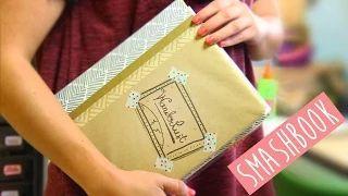 Scrapbook para armar: Diario de viaje ¡Ven conmigo! Smash book ✎ Craftingeek - YouTube