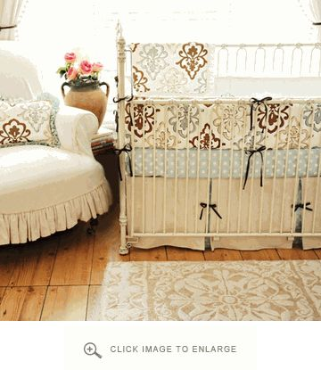 New Arrivals Crib Bedding Bella Amore Crib Set