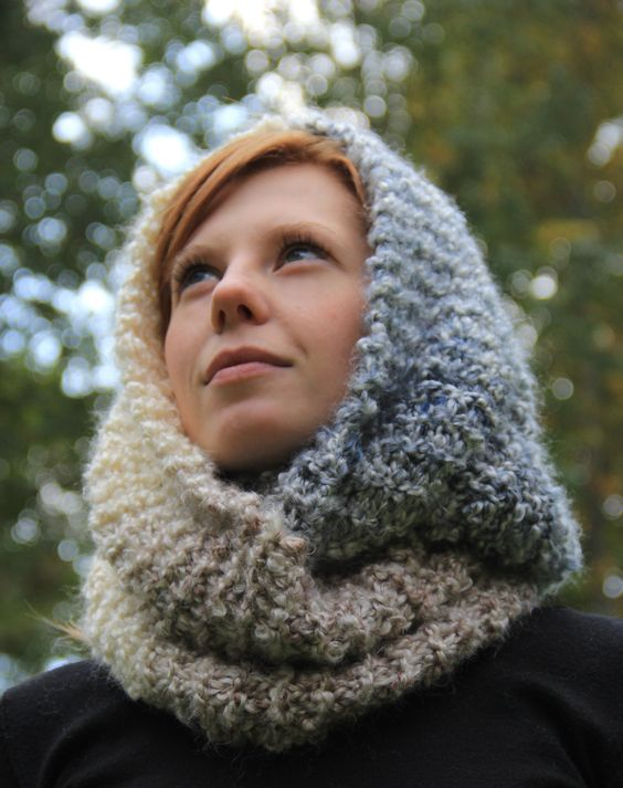 Knitting Needles Not Long Enough : The transitional infinity scarf knit stitches pull up