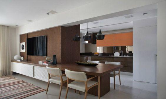 70m² Projetados para Pai e Filha   Click Interiores